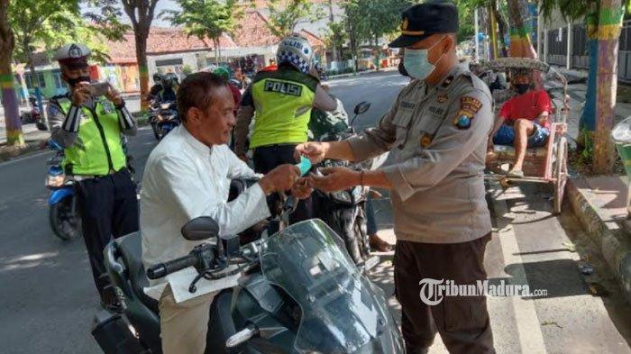 Operasi Yustisi di Pamekasan Kian Diperketat, Masih Ditemukan Pengendara Nakal Tak Pakai Masker
