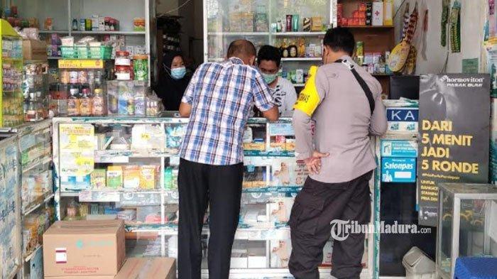 Cegah Kelangkaan Obat saat Pandemi, Polres Pamekasan Cek HET Penjualan Obat di Sejumlah Apotek