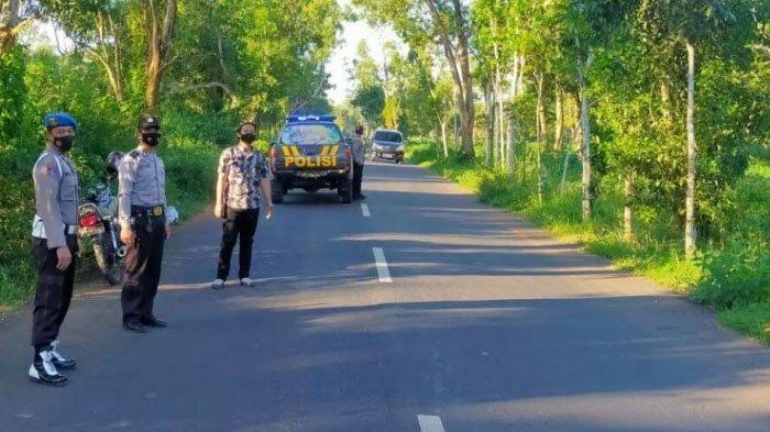 Antisipasi Balap Liar di Jalan Raya Pegantenan dan Tebul Timur, Polisi Patroli Jelang Buka Puasa