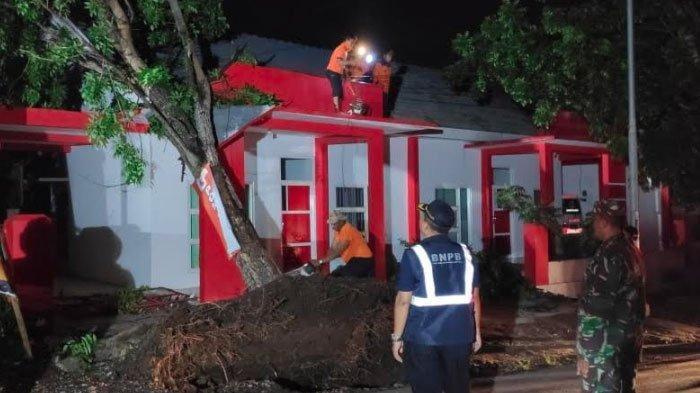 Angin Kencang dan Angin Puting Beliung Melanda Jember,Puluhan Bangunan Rusak Ditimpa PohonTumbang