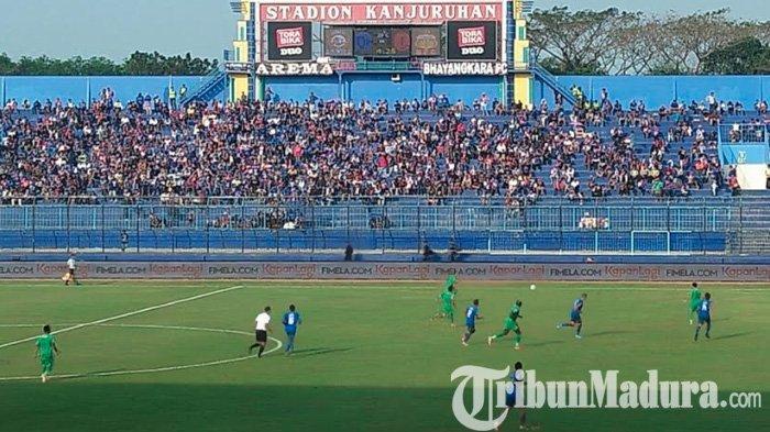 Jika PSBB Jakarta Hanya Dua Pekan Bhayangkara FC Main di PTIK, Sidoarjo Jadi Opsi Kalau Diperpanjang
