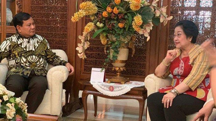 BertemuMegawati di Rumahnya,Prabowo Subianto Dibuatkan Nasi Goreng Kesukaan, Sampai Minta Tambah