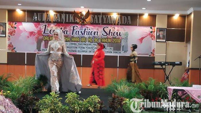 Hari Ibu 22 Desember,Polres Malang Kota Gelar Fashion Show Menggunakan Batik