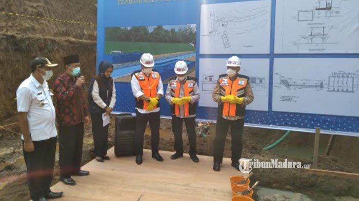 Bak Penampung Siap Beroperasi Oktober 2021, Diklaim Mampu Atasi Kekeringan di Wilayah Malang Selatan