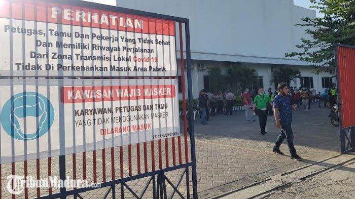 PT Tanjung Odi Sumenep Fokus Lakukan Swab Karyawan, Usai Penutupan Sementara Karena Covid-19