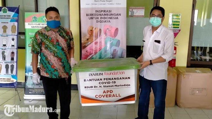 Djarum Foundation Berikan Bantuan APD untuk Petugas Tenaga Medis di Pamekasan dan Surabaya