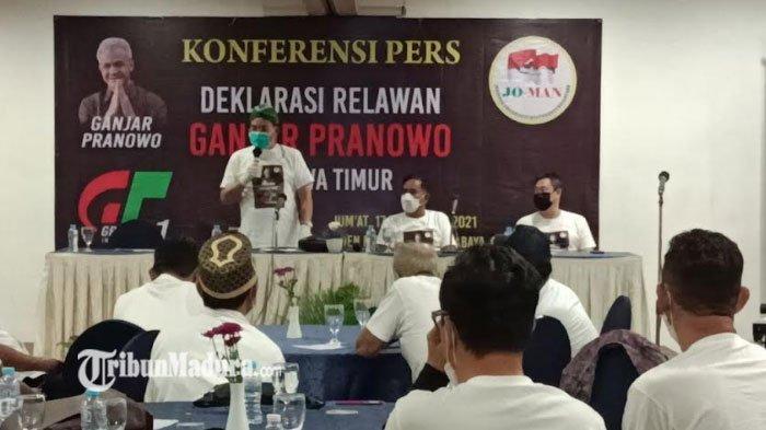 Relawan Jokowi Mania Deklarasikan Diri Dukung Ganjar Pranowo di Pilpres 2024, Bakal Ganti Nama