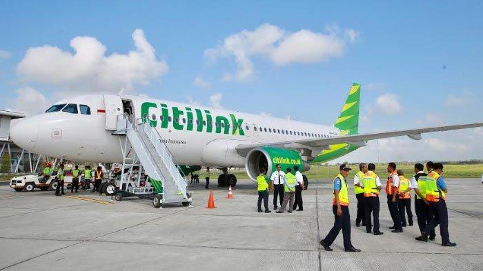Pesawat Garuda Indonesia hinggaCitilink Buka Lagi Rute Penerbangan ke Banyuwangi Mulai 1 Juli 2020
