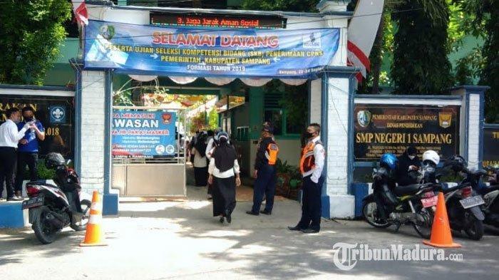 528 Peserta Jalani Tes SKB CPNS Kabupaten Sampang, 2 Peserta di Antaranya Kemungkinan Tidak Lulus