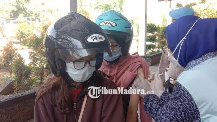 Gadis Kota Malang Ber NIK Ganda Akhirnya Mendapatkan Vaksinasi Drive Thru Polresta Malang Kota