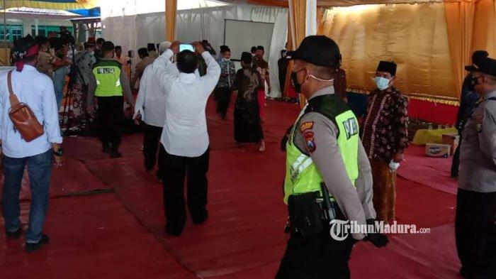 Warga Sumenep Gelar Pesta Pernikahan saat PPKM Level 4, Terima Kenyataan Hajatan Dibubarkan Polisi