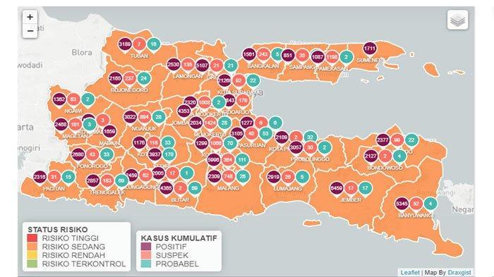 Jumlah Komulatif Covid-19 di Kota Blitar Tembus 2000 Kasus, Warga Kembali Diingatkan soal Prokes