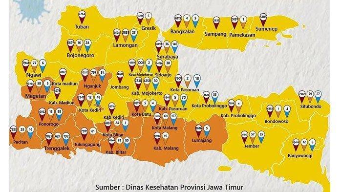3 Daerah di Jatim Masuk PPKM Level 1, Kabupaten Tuban dan Pasuruan Sukses Susul Lamongan