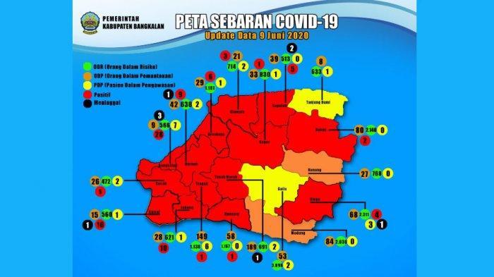 Update 10 Juni: Penderita Covid-19 di Bangkalan Berjumlah 94 Pasien, Didominasi Orang Tanpa Gejala