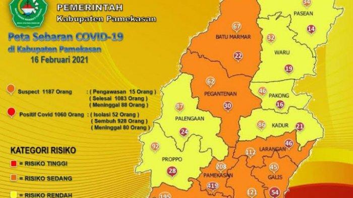 Pasien Positif Covid-19 Tambah 1 Orang Per 16 Februari 2021, 1060 Pasien Pernah Positif Virus Corona