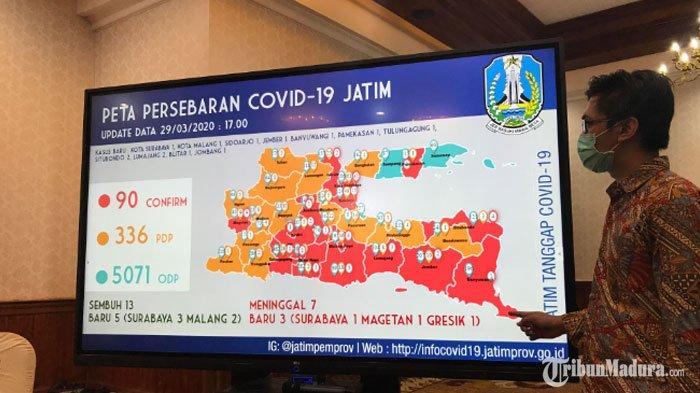 Jawa Timur Punya 18 Daerah Zona Merah Virus Corona, Gubernur Khofifah Ingatkan Warga Soal Ini