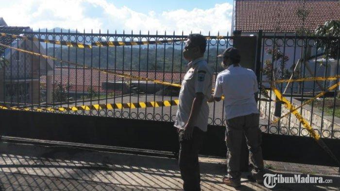 Punya Ruang Bawah Tanah, Pembangunan Villa di Kota Batu Dihentikan Satpol PP, Diduga Tak Miliki IMB