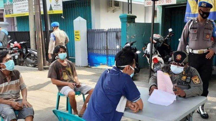 Tak Ada Lonjakan Kasus Covid-19, Aparat Gabungan Kota Kediri Tetap Gencar Operasi Penegakan Prokes