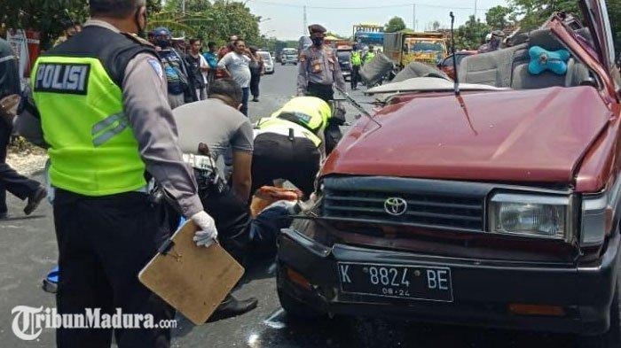 Daftar 6 Korban Meninggal Kecelakaan Adu Moncong Mobil Vs Truk di Tuban, Terkuak dari Korban Selamat
