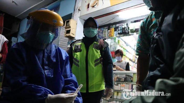 Rapid Test Covid-19 Ketiga Bisa Jadi Penentu Keputusan Penutupan Sementara Pasar Lawang di Malang