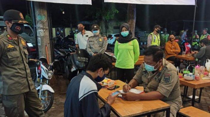 Pelanggar Protokol Kesehatan di Kota Kediri Diberi Teguran Tertulis, Satpol PP Sasar Kafe dan Warkop