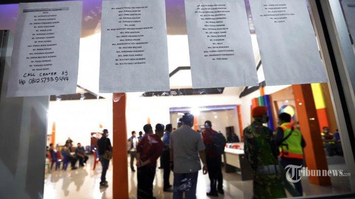 Daftar Nama 59 Korban Sriwijaya Air SJ-182 yang Sudah Berhasil Diidentifikasi Tim DVI Polri