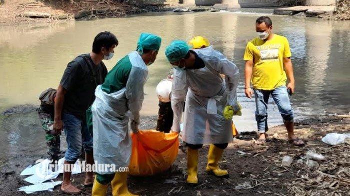 Mayat Tanpa Identitas Ditemukan di Bawah Jembatan di Ngawi, Penuh Luka Tusuk di Bagian Tubuh