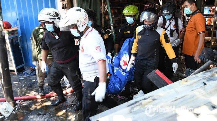 Toko Elektronik Terbakar di Jalan Kranggan Surabaya, 5 Penghuni Tewas, Wali Kota Risma Angkat Suara