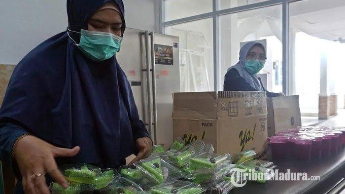 Kisah Tim Gizi di Balik Dapur RS Kilisuci, Rumah Sakit Khusus Pasien Khusus Covid-19 Kota Kediri