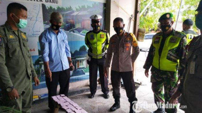 Puluhan Warga Mojokerto Kepergok Tak Pakai Masker, Petugas Gabungan Sita Handphone Pelanggar Prokes