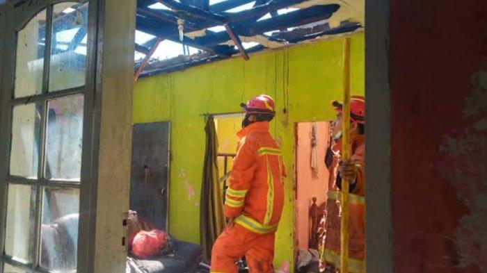Kebakaran Rumah di Kota Batu, Api Menyambar Hampir Seluruh Ruangan Rumah, Ini Dugaan Sebabnya