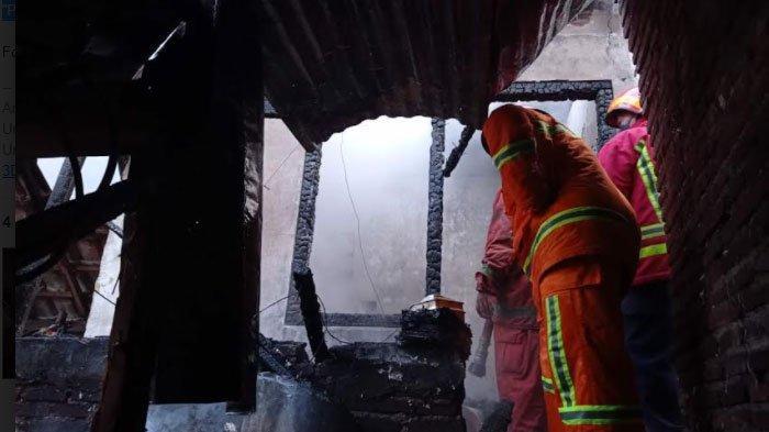 Kebakaran Rumah di Kota Malang, Dua Penghuni Alami Luka Bakar, Tiga Mobil PMK Dikerahkan ke Lokasi