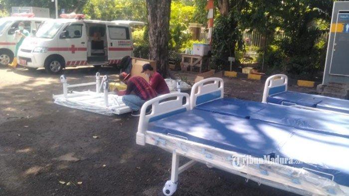 RS Lapangan Indrapura Penuh, Ratusan Pasien Covid-19 Masuk Daftar Antrean, RS Tambah Kapasitas Bed