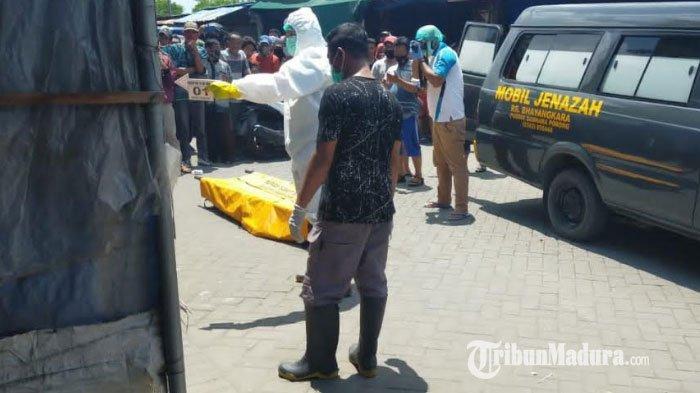 Pria Diduga Bunuh Diri Hebohkan Warga di Pasar Porong Sidoarjo, Sempat Dikira Bergurau
