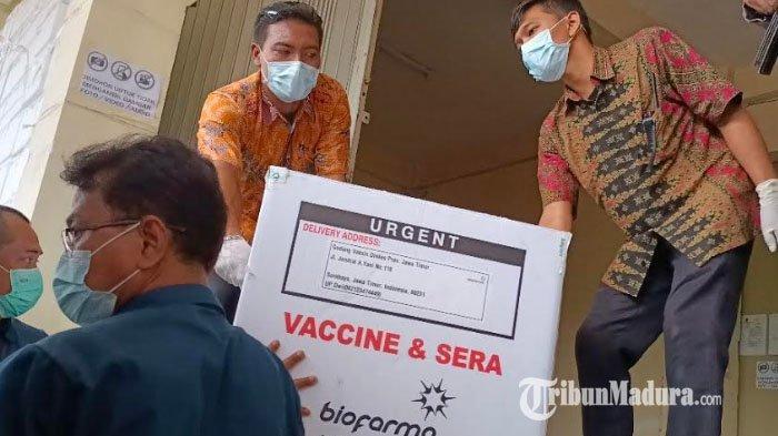 Surabaya Kembali Terima Jatah Vaksin dari Pemprov Jatim, 18.420 Vial Vaksin Covid-19 Telah Diterima
