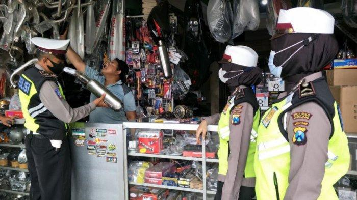 Pemilik Bengkel di Kabupaten Lumajang Ingat! Layani Pasang Knalpot Brong Bisa Diberi Sanksi Tegas