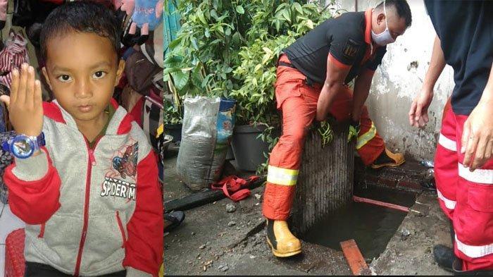 Awalnya Diletakkan di Pembatas Gorong-Gorong, Balita 5 Tahun Malah Tenggelam, Sandal Jadi Petunjuk