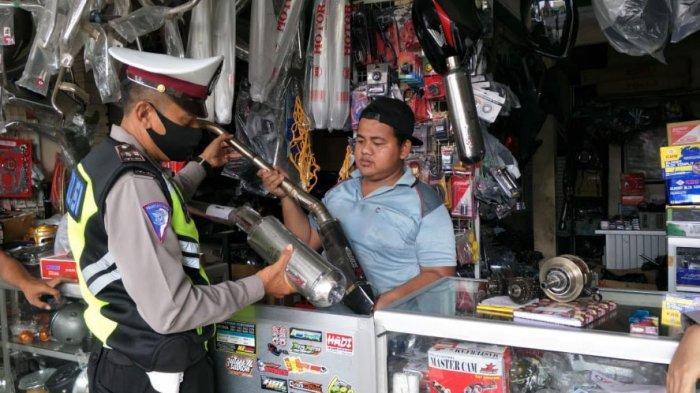 Malam Tahun Baru, Motor dengan Knalpot Brong di Kabupaten Lumajang Akan Ditindak