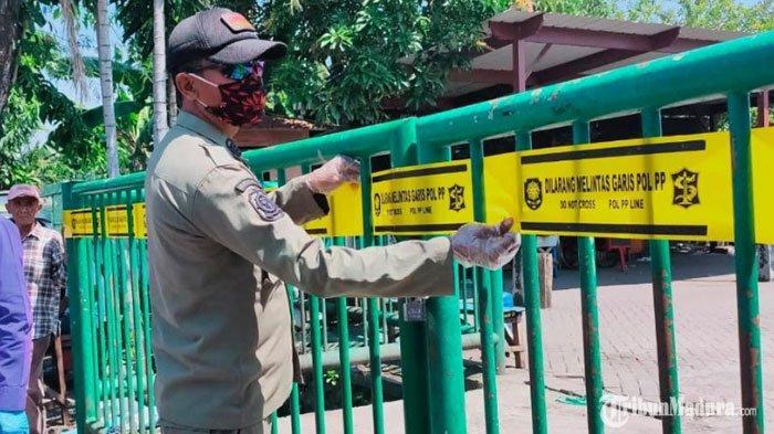 Pedagang Pasar diSukolilo Surabaya Positif Virus Corona, Operasional Pasar Ditutup selama Dua Pekan