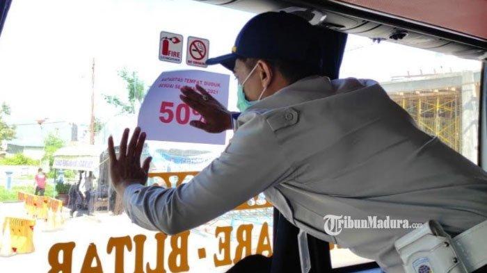 Penumpang Bus yang Lakukan Perjalanan Jauh Wajib Bawa Kartu Vaksin dan Tes Swab selama PPKM Darurat
