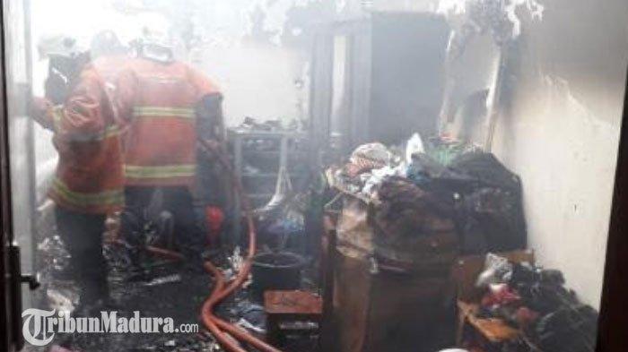 Terungkap Penyebab Rumah Kontrakan di Surabaya Terbakar, Keterangan Saksi Berbeda dari Dugaan Polisi