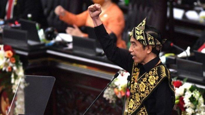 NASKAH LENGKAP Pidato Kenegaraan Jokowi 'Jangan Merasa Paling Agamis, Paling Benar dan Pancasilais'