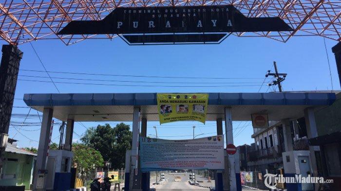 Operasional Terminal Purabaya Masih Ditutup, Protokol Kesehatan Disiapkan Jelang Kembali Dibuka