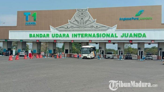 Jumlah Penumpang di Bandara Juanda Naik, Dishub Bantah Ada Kaitannya denganBandara Soekarno Hatta