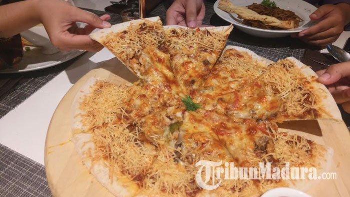 Unik, di Gresik Olahan Ikan Bandeng Disulap Menjadi Makanan Khas Italia Pizza dan Spageti