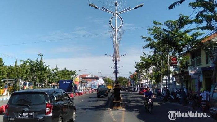 PJU di Sampang Banyak Rusak, DishubTelan DanaPemeliharaan Rp200 Juta dalam Waktu 6 Bulan