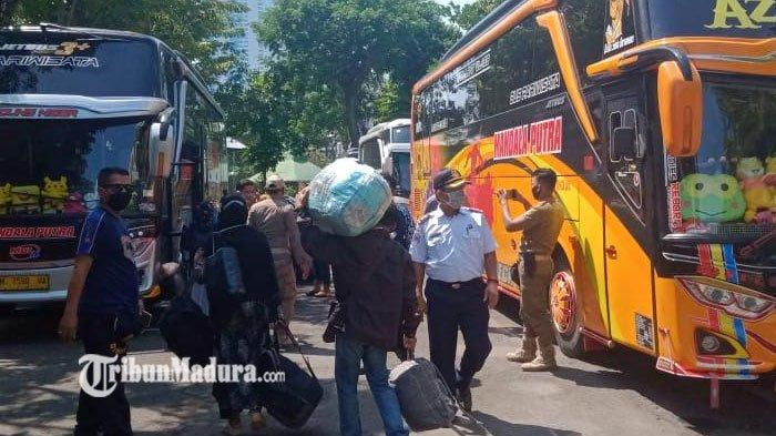 Ratusan Pekerja Migran asal Sampang Dideportasi dari Negara Perantauannya, Mayoritas dari Malaysia