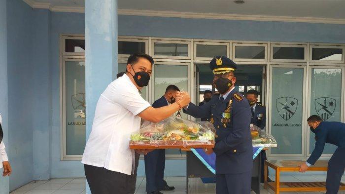 Kapolda Jatim beserta Pejabat Utama Turut Rayakan HUT TNI ke-76 kunjungi Kodam V/Brawijaya
