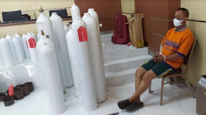 Tabung Oksigen Modifikasi dari APAR Dijual Rp 4 Juta di Medsos, Tersangka Terancam 15 Tahun Penjara
