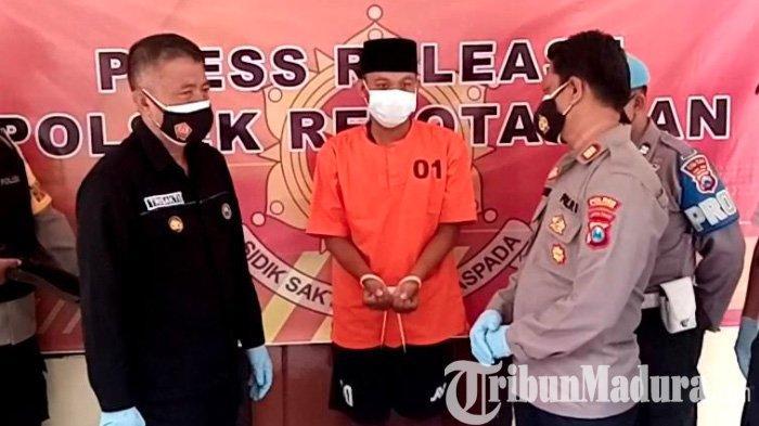 Ngaku Polisi, Warga Lumajang Nipu di Kota Blitar Kena Batunya di Tulungagung: Masker Logo TNI Polri